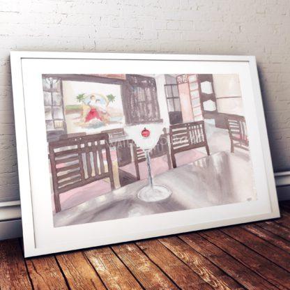 Frozen Daiquiri Studio Photo Frame White