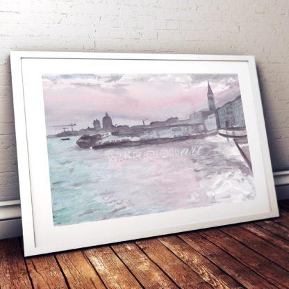 Vaporetti Studio Photo Frame White