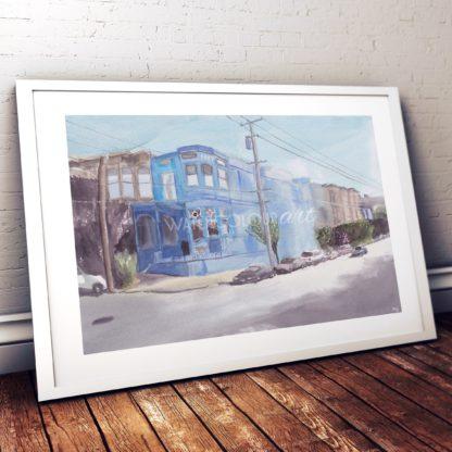 Blue House Studio Photo Frame White