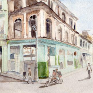 Havana Street Afternoon