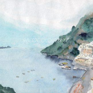 Amalfi Coast Seascape
