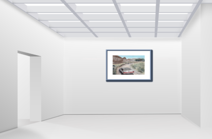 Driving Into The Unknown Gallery Wall