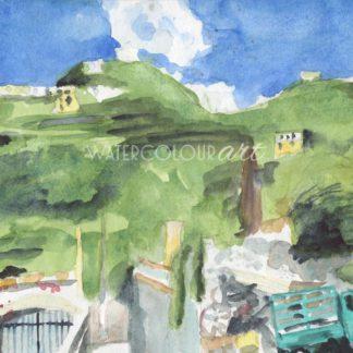 Hills Near Amalfi