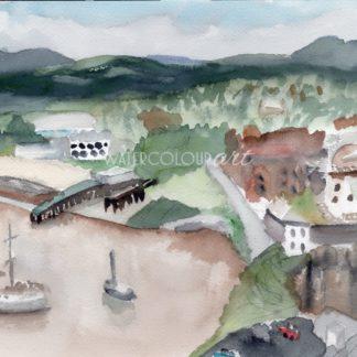 Launceston View Of The City
