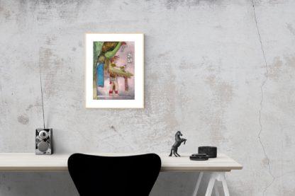Mayan Ancestor Desk Horse