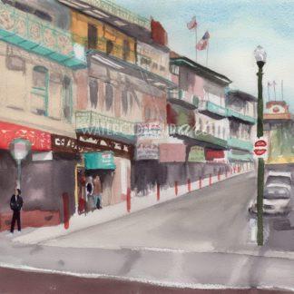 San Francisco Chinatown Street