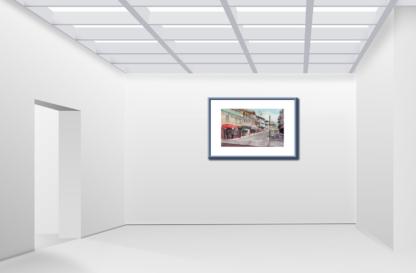 San Francisco Chinatown Street Gallery Wall