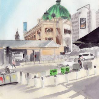Flinders Street Federation Square