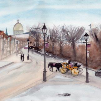 Montreal Horse Cart