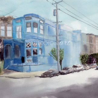 San Francisco Blue House