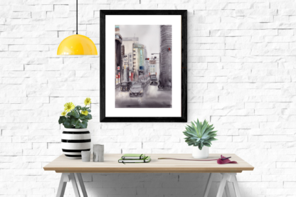Tokyo Street Scene Table