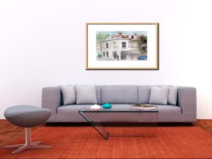 Closure Of Entrecote Interior Sofa